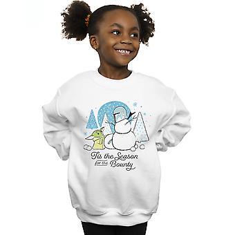 Star Wars Mädchen die mandalorianischen Tis die Saison Sweatshirt