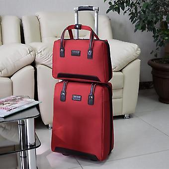 Naisen säilytys matkalaukku