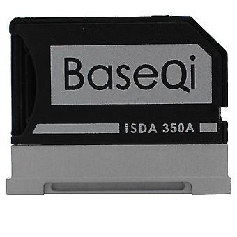 Baseqi hliníkový microsd adaptér pro microsoft povrch knihy / povrchové knihy 2 / povrch knihy 3 13,5 & (