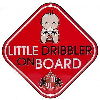 Sunderland AFC Little Dribbler Car Sign