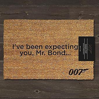 James Bond Ive Been Expecting You Door Mat
