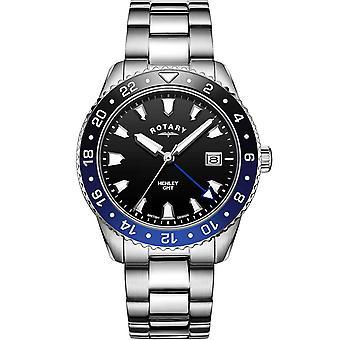 Relógio Masculino ROTATIVO GB05108/63, Quartzo, 42mm, 10ATM