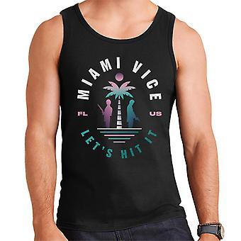 Miami Vice FL US Lets Hit It Men's Vest