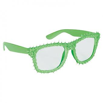 Party Glasses Spines Green Unisex