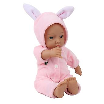 2020 New 11 Inch Handmade Realistic Newborn Rabbit Baby Doll