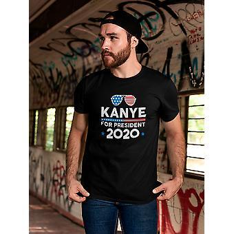 Kanye For President 2020 Men's T-shirt