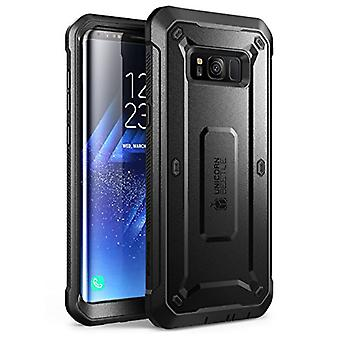 SUPCASE Unicorn Beetle PRO Series Phone Case for Samsung Galaxy S8, Full-Body Rugged Protective Case for Galaxy S8 2017 (Black)
