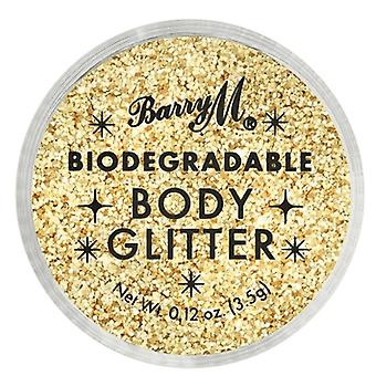 Barry M 3 X Barry M Biodegradable Body Glitter - Gold Mine
