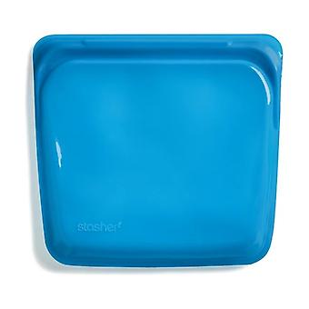 Blueberry reusable silicone sandwich storage bag 1 unit