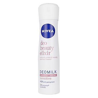 Spray Deodorant Melk Skjønnhet Elixir Sensitive Nivea (150 ml)