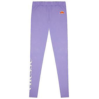 Ellesse Heritage Cabio Kids Girls Legging Tight Purple