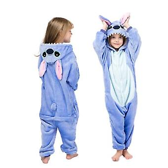 Children Winter Stich Pajamas Sleepwear Unicorn Onesies Boys Girls Blanket Sleeper Baby Costume