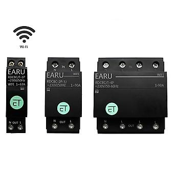 1p 2p 4p Wifi Circuit Breaker Time Timer Relay Switch