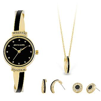 Pierre Cardin PCX6855L297 Cadeauset Horloge & Ketting & Oorbellen