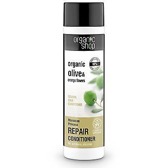 Organic Shop Bálsamo Capilar Revitalizante de Oliva y Aceite de Argan 280 ml