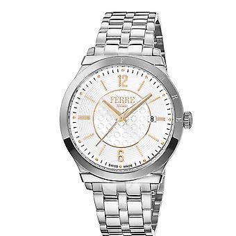 Ferre Milano White Dial Men's Watch FM1G066M0061