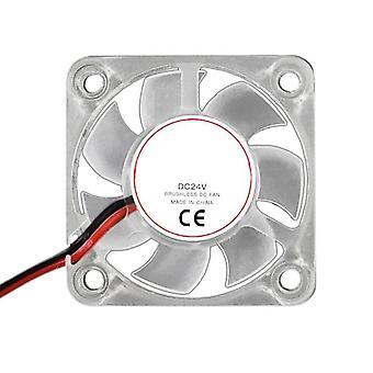 Extrusion head cooling fan radiator bracket  led light cooler for 3d printer 24v 667c