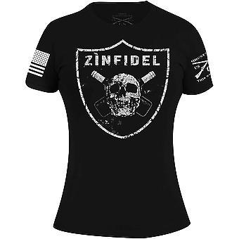Grunt Style Women's Zinfidel T-Shirt - Black