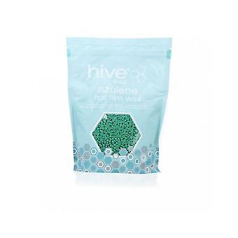 Colmeia da beleza parafina encerando Azulene quente filme cera pelotas todos os tipos de pele 700g