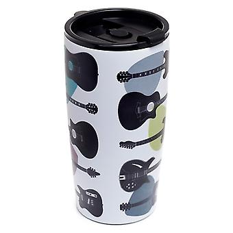 Puckator Headstock Guitar Stainless Steel Drinks Cup