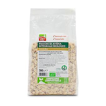Biologische glutenvrije volkoren havervlokken (composteerbare verpakking) 300g
