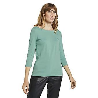 Tom Tailor 3/4-Arm camisa T, 25986-Suave hoja verde, mujer pequeña