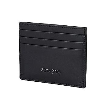 Samsonite Success 2 SLG Travel Accessories- Credit Card Case Envelope, Kartenetui: 7.6 x 0.5 10 cm, Schwarz (Black)