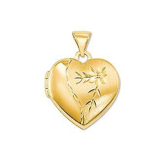 kärlek Medaljong hänge kvinna oro_giallo - 2013564