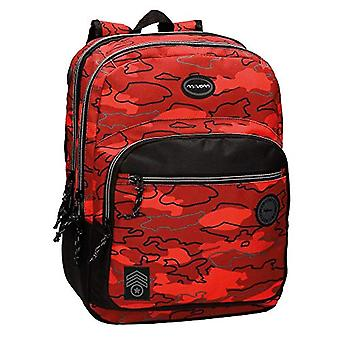 Movom Camu Casual Backpack, 42 cm, 19.22 Liters, Red (Rojo)