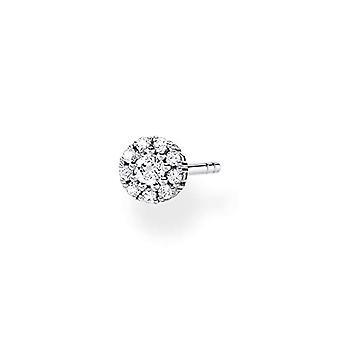 Thomas Sabo, orecchini da donna in argento Sterling 925 con pietre bianche.(1)