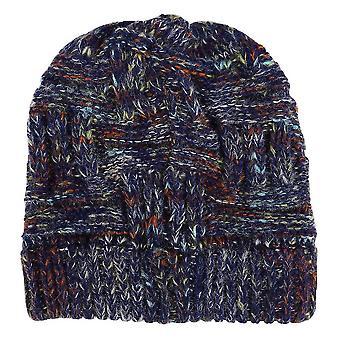 20X21cm námorníctvo 1ks vlnené čiapky pletenie vlna klobúk teplý klobúk ponytail klobúk pre ženy lady dievča dt3098