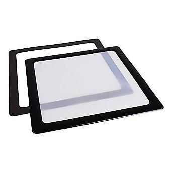 DEMCiflex Staubfilter 200mm Quadrat - Schwarz/Weiß