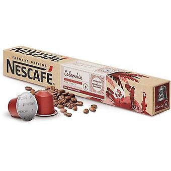 Capsules de café FARMERS ORIGINS Nescafé COLOMBIA Décaféiné (10 uds)
