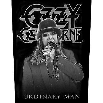 Ozzy Osbourne - Almindelig mand tilbage Patch