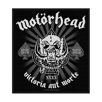 Motorová hlavica - Victoria aut Morte 1975 - 2015 Standard Patch