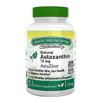 Health Thru Nutrition Astaxanthin, 12 mg 30 Softgels