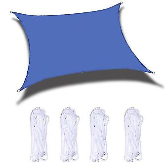 Sun Shade Sails Canopy 118x118 In For Patio Garden Outdoor Facility And Activities(Blue)