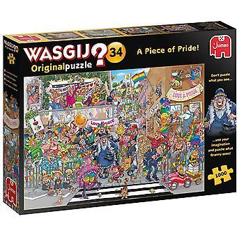 Wasgij Original 34 A Piece of Pride Jigsaw Puzzle (1000 Pieces)