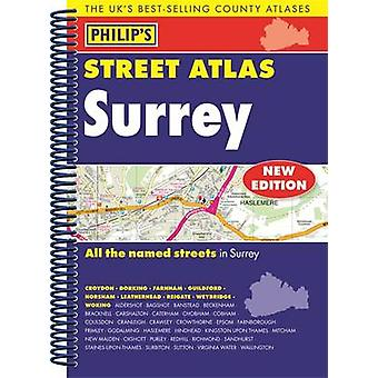 Philips Street Atlas Surrey by Philips