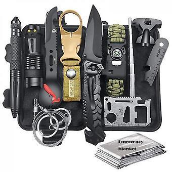 Botiquín de primeros auxilios equipo de supervivencia profesional Sos herramienta de emergencia (Style1)
