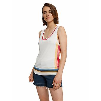 Shuuk Striped Knitted Tank Top