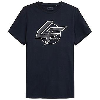 4F TSM022 H4Z21TSM022CIEMNYGRANAT   men t-shirt