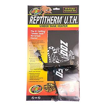 """Zoo Med Repti Therm Under Tank Reptile Heater - 16 Watts - 12"""" Long x 8"""" Wide (30-40 Gallons)"""