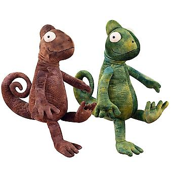 Plush Lizard Toy Chameleon Doll Soft Animal Adult Kids Stuffed Birthday Gift
