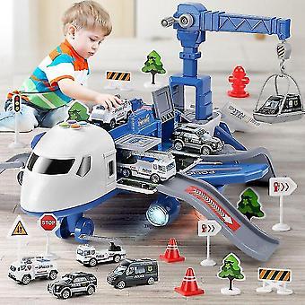 Lentokone musiikin simulointi raidalla Inertia Lasten lelu Lasten Lelu lentokone Isokokoinen Matkustajalentokone Lentokone Lelu Lelu Auto-punainen