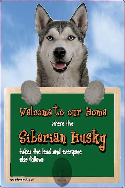 Scottish Collectables Siberian Husky 3D Lead Hanger Wall Plaque