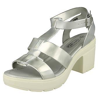Ladies flekk på Casual Gladiator stil sandaler F10449