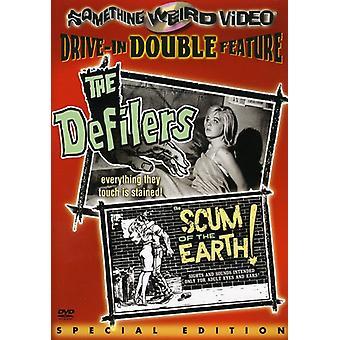 Defilers/uitschot van de aarde [DVD] VS importeren