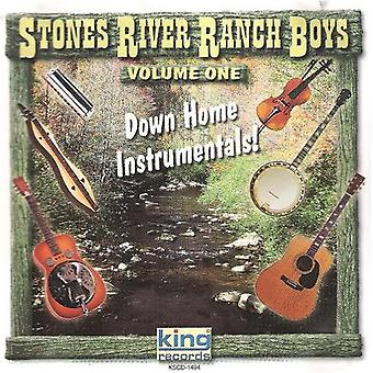 Stones River Ranch Boys - Down Home Instrumentals [CD] USA import