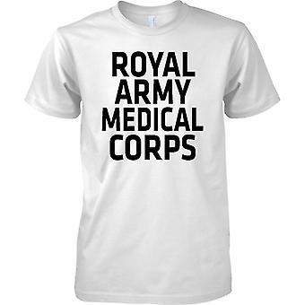 Lisensoitu MOD-British Army Royal Army Medical Corps-Text-Miesten T-paita